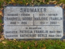 Marjorie <I>Franklin</I> Shumaker