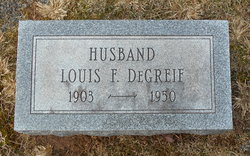Louis F DeGreif