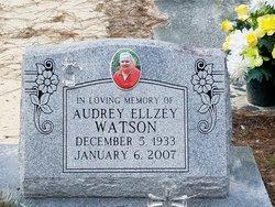 Audrey <I>Ellzey</I> Watson