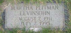 Martha Jean <I>Plitman</I> Levinsohn