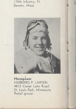 2LT Hubbard Peter Larsen