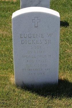 Eugene Wilfred Dickes, Sr