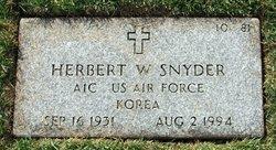 Herbert William Snyder, Jr
