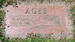 Rita E <I>Wiser</I> Agee