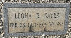 Leona <I>Bagwell</I> Sayer