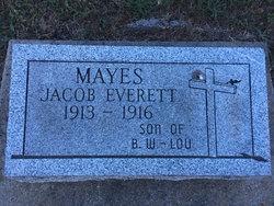 Jacob Everett Mayes