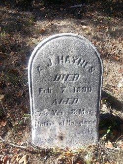 A. J. Haynes