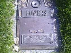 "Winona Grace ""Winnie"" <I>Roser</I> Powers"