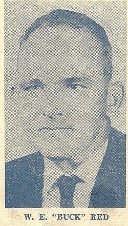 """William E """"Buck"""" Red"""