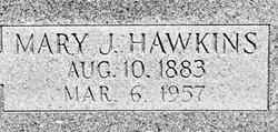 Mary Jane <I>Hawkins</I> Allen