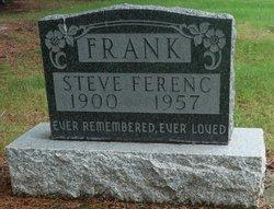 """Steven Ferenc """"Steve"""" Frank"""