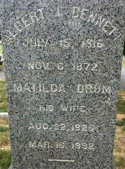 Matilda <I>Drum</I> Bennett