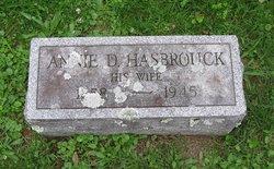 Annie D. <I>Hasbrouck</I> Wilklow