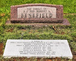 Harriet Adelaide <I>Barry</I> Benefield