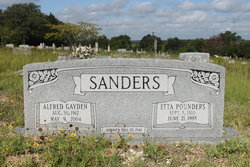 Etta Evelyn <I>Pounders</I> Sanders