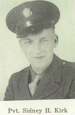 Pvt Sidney H. Kirk