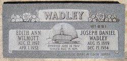 Joseph Daniel Wadley, Jr