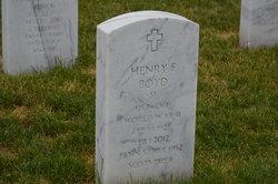 Henry F. Boyd