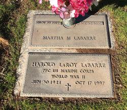 Martha M LaBarre