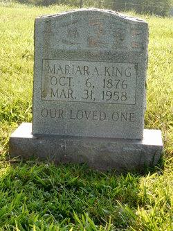 Mariah Alice <I>Ford</I> King