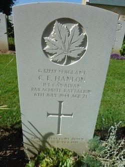 Sgt Charles Edmund Hanlon