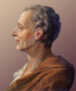 Charles Louis de Secondat Baron de la Brede et de Montesquieu