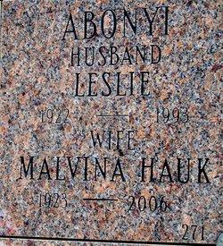 Dr Malvina Hauk Abonyi