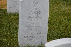 Agnes M Driscoll