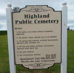 Highland Public Cemetery