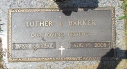 Luther Lincoln Barker