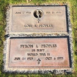 Lois R Peoples