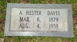 Augusta Hester <I>Ellington</I> Davis