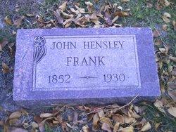 John Wesley Frank