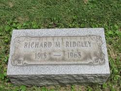 """Richard Morton """"Dick"""" Ridgley"""