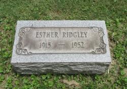 Josephine Esther <I>Geisee</I> Ridgley