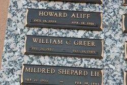 Mildred <I>Shepard</I> Lie