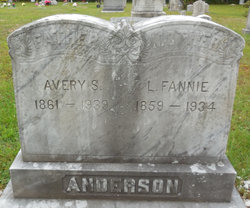 Fannie <I>Staples</I> Anderson