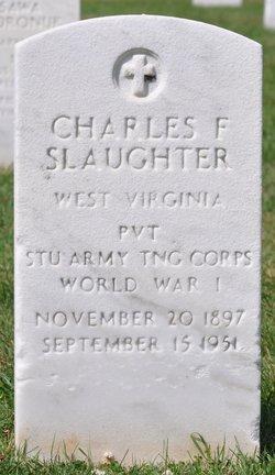 Charles F Slaughter