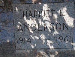 Harriet L Anderson