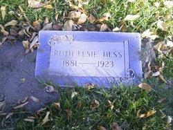 Ruth Elsie Hess