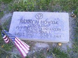 Harry M Howell