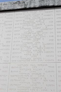"""ENS Ulmont Irvin """"Monty"""" Whitehead, Jr"""