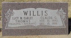 Claude G Willis
