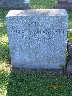 Nina E Bunshaft