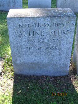 Pauline <I>Bunshaft</I> Blum