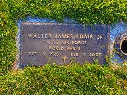 """Walter James """"Jim"""" Adair, Jr"""