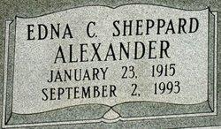 Edna C <I>Sheppard</I> Alexander