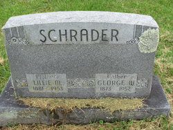 Lillie M <I>Shepard</I> Schrader
