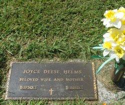 Joyce Docelia <I>Deese</I> Helms