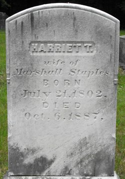 Harriet <I>Tilton</I> Marshall